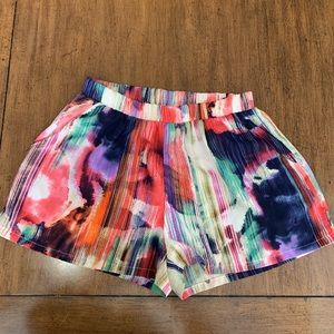 Tyche watercolor shorts